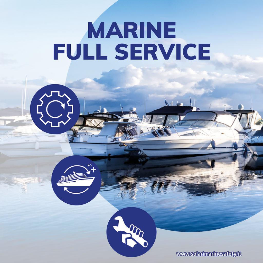 Marine full service - solari - servizi tecnici per la sicurezza delle  imbarcazioni